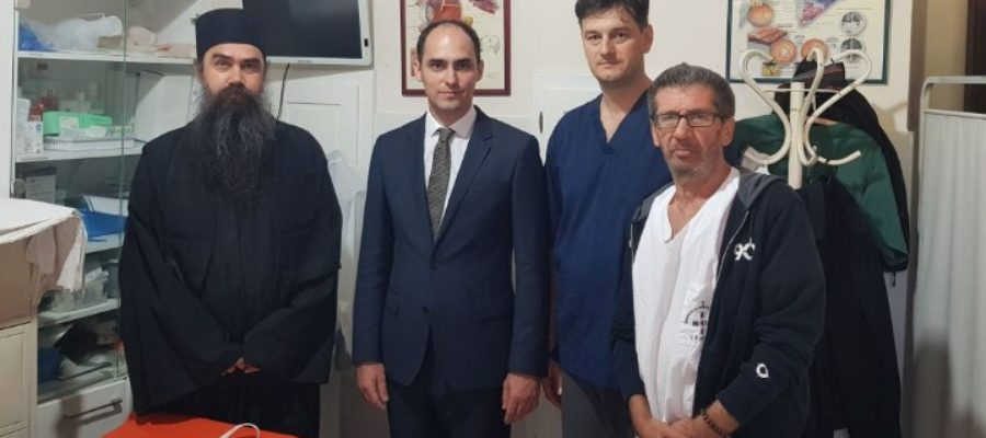 Принц Михаило Карађорђевић у посети амбуланти ХЛД