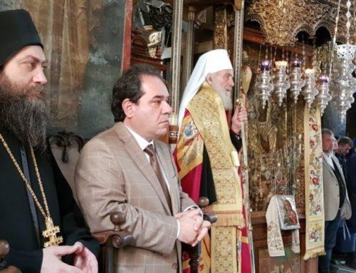 Патријарх српски Г. Иринеј у посети амбуланти ХЛД (видео)
