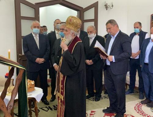 Његова Светост Патријарх српски Г. Иринеј на слави Хиландарског лекарског друштва